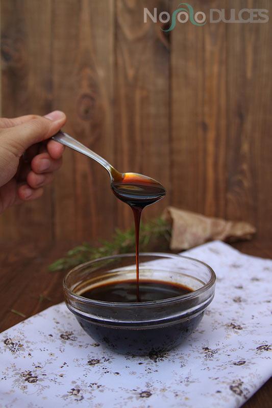 No solo dulces – Reducción Pedro Ximenez