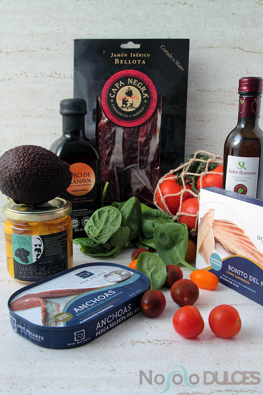 No solo dulces – Canapés fríos para invitados Productos gourmet