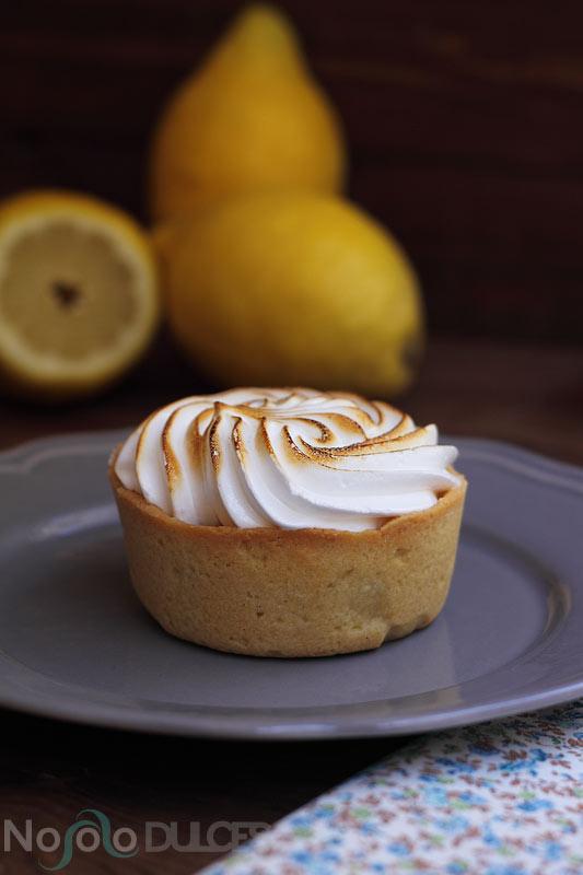 No solo dulces - Tartaletas de limón Lemon pie