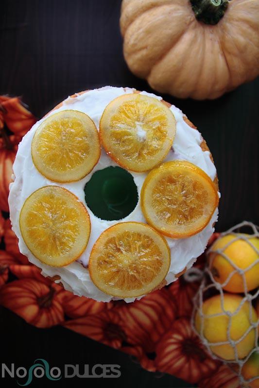 No solo dulces – Bizcocho vegano de calabaza y naranja sin huevos sin leche