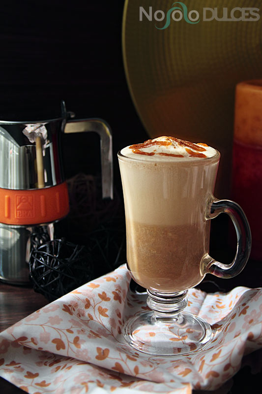 No solo dulces - Café especiado con calabaza - Pumpkin spice latte
