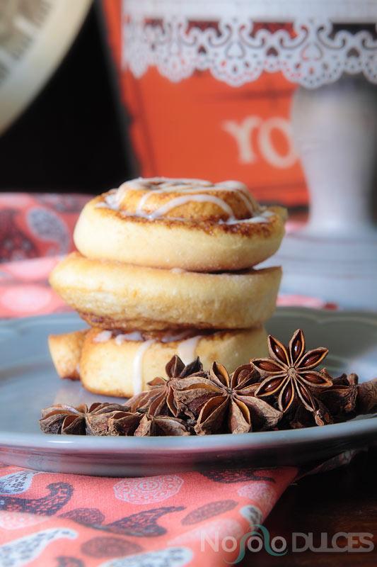 No solo dulces - Rollitos de canela y anís estrellado