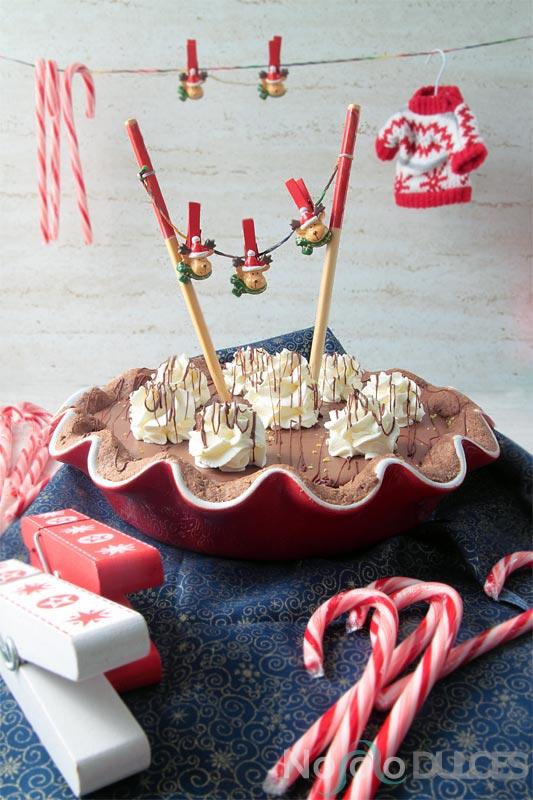 No solo dulces – Tarta de chocolate, limón y jengibre para navidad