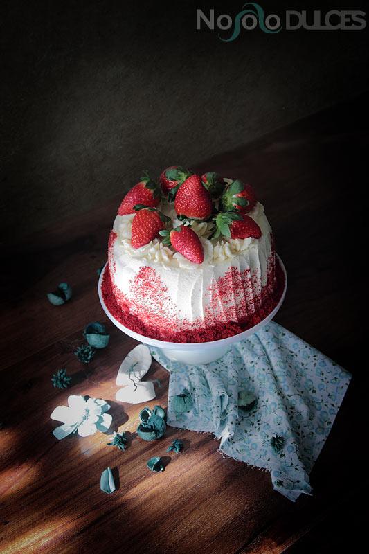 No solo dulces – Tarta caníbal red velvet para san valentín