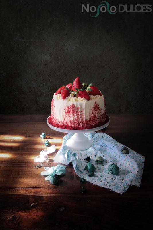 No solo dulces - Tarta caníbal red velvet para san valentín