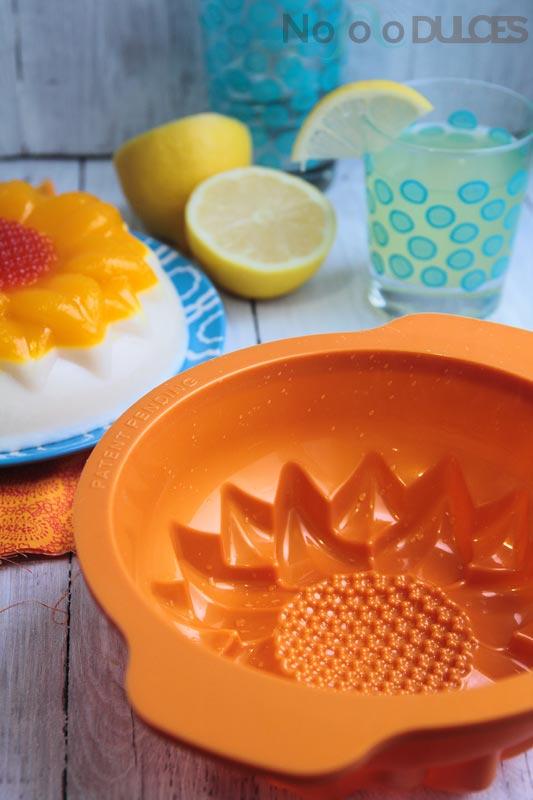 No solo dulces - Tarta de gelatina de piña colada