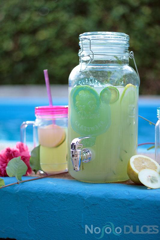No solo dulces - Limonada de romero y té matcha