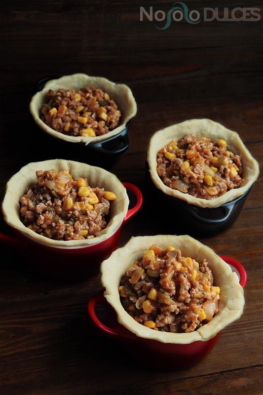 Tartaleta de carne [Meat pie recipe]