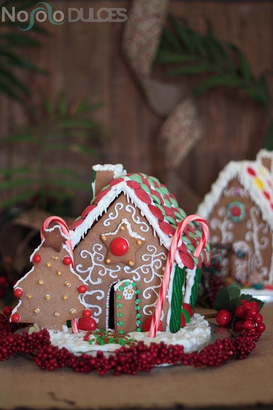 Casitas de jengibre para Navidad [Gingerbread Houses]