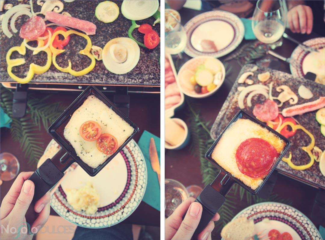 Pasos para preparar una deliciosa comida con raclette para compartir con los amigos