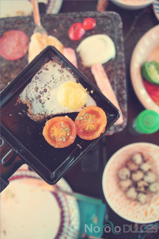Como preparar una raclette