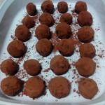 Trufas de chocolate fáciles