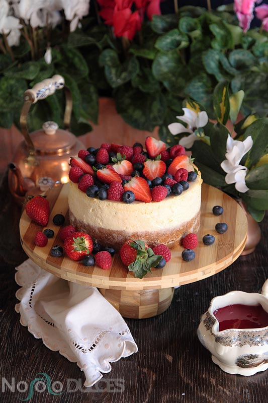Tarta de queso estilo americano – New York cheesecake