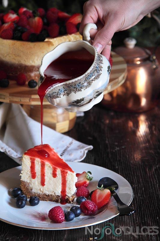 Tarta de queso estilo americano – New York cheesecake