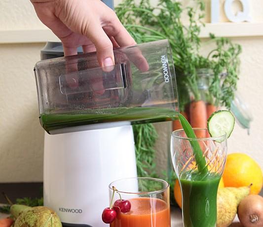 Participa en el sorteo de un extractor de nutrientes Pure Juice de Kenwood