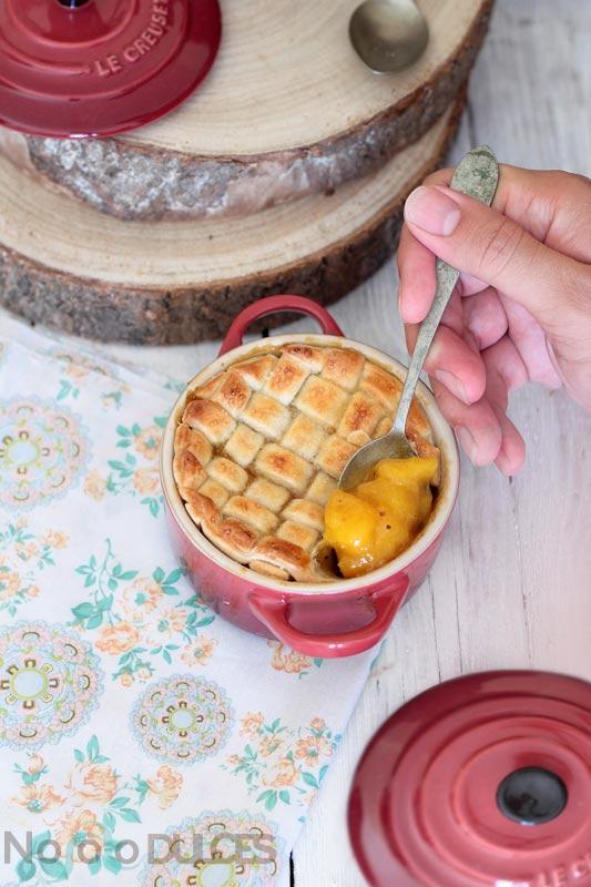 Pastel de mango especiado [Mango pie]