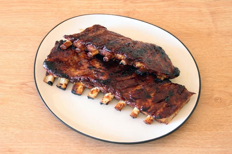 Receta de costillas al horno con salsa barbacoa casera