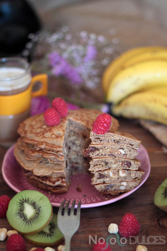 Tortitas especiadas de avena y frutos secos